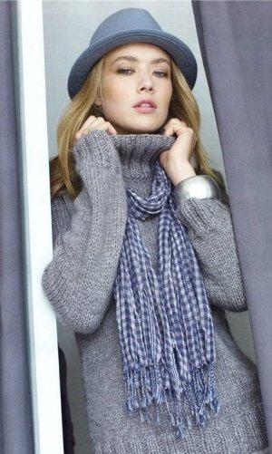 вязаный-свитер