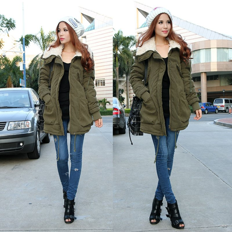 holiday-sale-New-Winter-Women-s-Lady-Fleece-Parka-Coat-Zip-Overcoat-Long-Jacket-Warm-Army