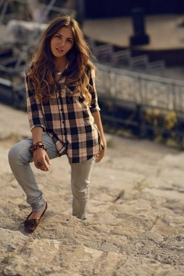 мокасины и джинсы